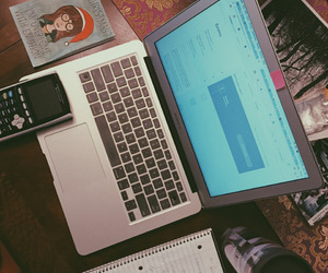 macbook, motivation, and notes image