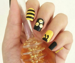 honey, lacquer, and manicure image