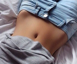 body, fitness, and jeans image