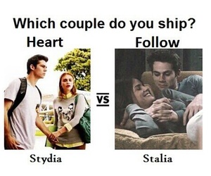 stydia, stalia, and teen wolf image