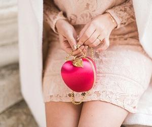 apple, bag, and fashion image