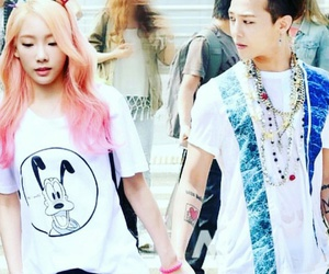 gd, snsd, and taeyeon image