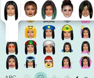 emoji and kylie jenner image