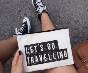 bag, black, and converse image