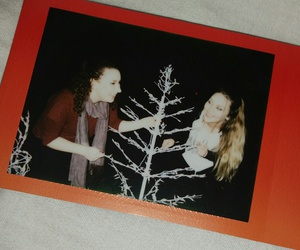 best friends, film, and polaroid image
