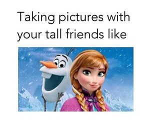 bff, friend, and frozen image