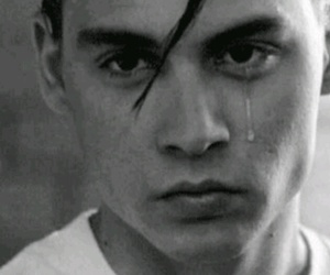 johnny depp, cry baby, and cry image
