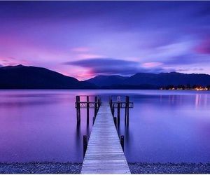 purple, clouds, and nature image