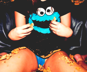 cookie monster, Cookies, and cookie image