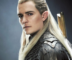 Legolas, the hobbit, and elf image