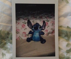 bae, floral print, and stitch image