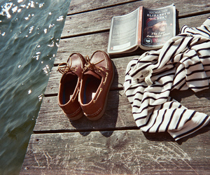 book, shoes, and summer image