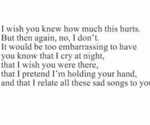 quote, feelings, and hurt image