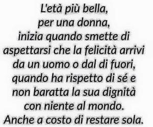 donna, frasi italiane, and l'età più bella image