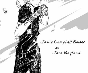 Jamie Campbell Bower, tmi, and book image