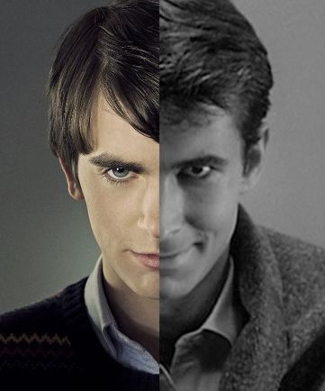 Norman Bates From Tv Show Bates Motel Freddie Highmore Vs Norman Bates From Movie Psycho Anthony Perkins