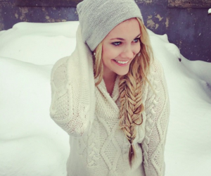 beauty, braid, and clothes image