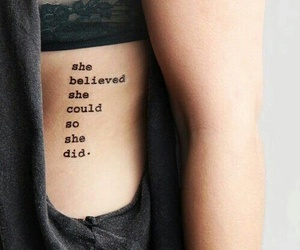 believe, strong, and girl image
