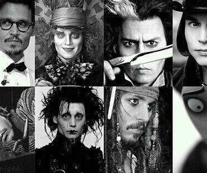 johnny depp, mad hatter, and sweeney todd image