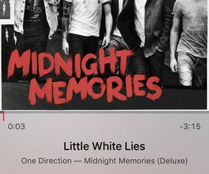 little white lies, MM, and 1d image