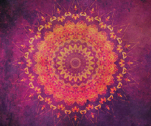 mandala, art, and pink image