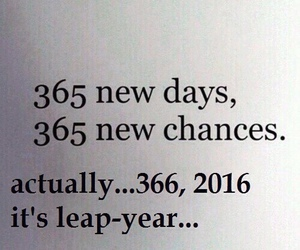 2016, new year, and chance image