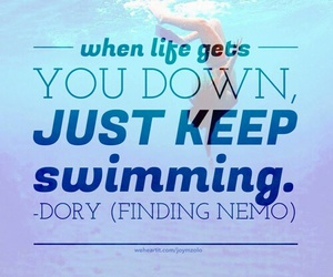 finding nemo, girl, and quotes image