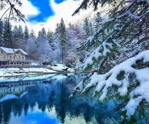 beautiful, snow, and switzerland image