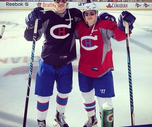 hockey, nathan beaulieu, and brendan gallagher image