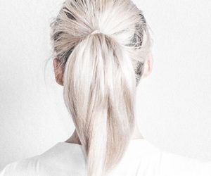 hair, white, and style image