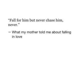 chase, never, and advice image