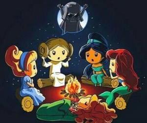 disney, princess, and star wars image