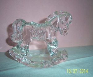 glass, horse, and pale image