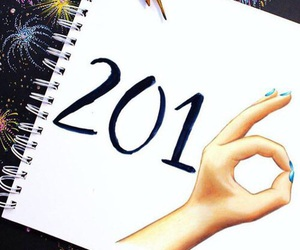 2016, art, and new year image