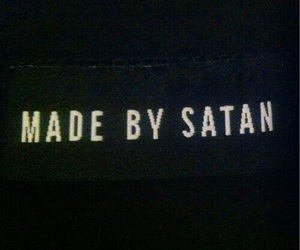 satan, grunge, and black image