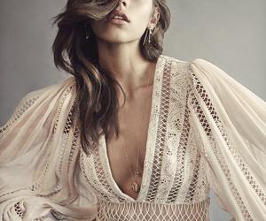 beautiful, brunette, and georgia fowler image