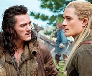 Legolas, bard, and the hobbit image