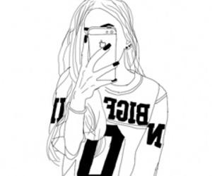 tumblr outline image
