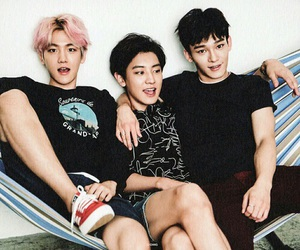 Chen, exo, and chanyeol image