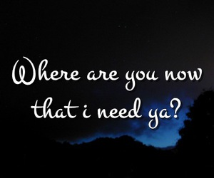 Lyrics, quotes, and where are you image