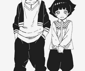 boruto, naruto, and himawari image