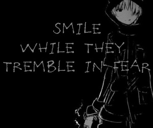 assassin, fear, and smile image