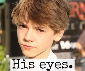 actor, eyes, and him image