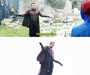 lol, magneto, and Marvel image