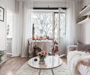 dining space, interiors, and small space image