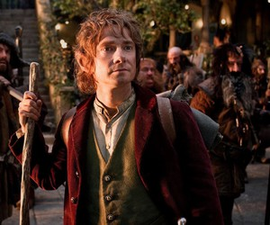 the hobbit, Martin Freeman, and bilbo baggins image