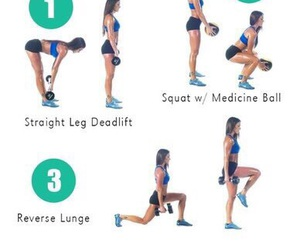 bum, butt, and fitness image