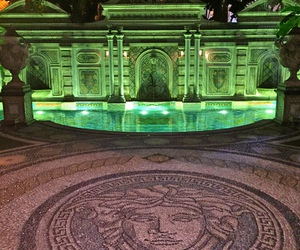 Versace, luxe, and pool image