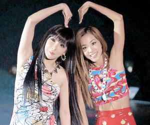 2ne1, dara, and kpop image