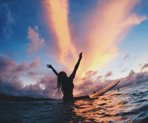 surf, photography, and sea image